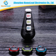 factory price wireless whistle key finder keychain key finder Locator with LED flash cheap tracker pet