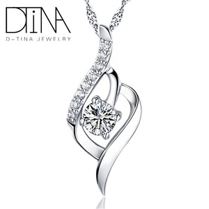 DTINA Fast delivery fashion 펜 던 트 import silver jewelry 925 Sterling Silver wholesale