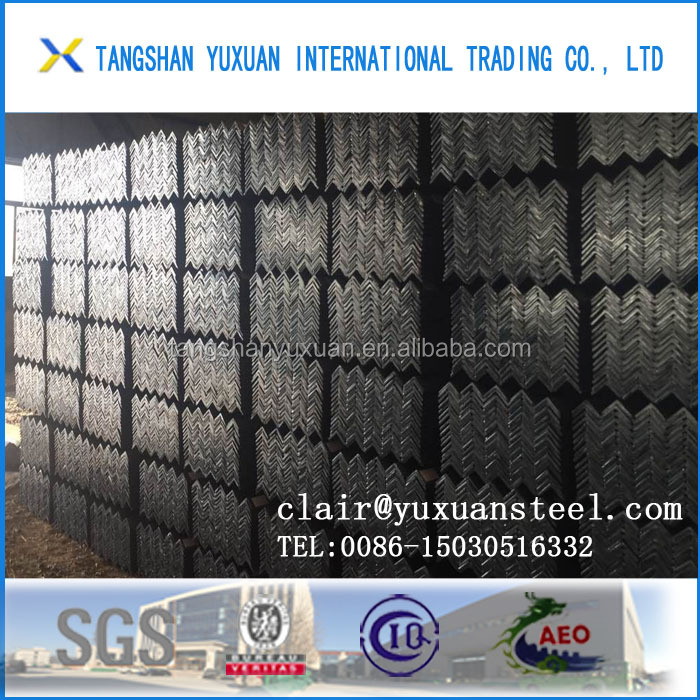 q235 ss400 price list steel angle iron