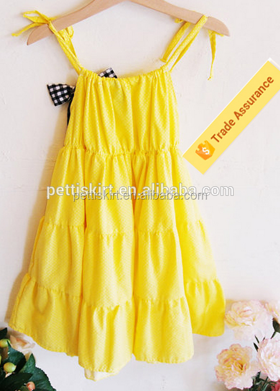 Girls boutique clothes unique summer baby girl names images plain yellow baby dress girls party wear