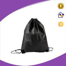 80gsm black non woven drawstring bag,nonwoven backpack cinch bag