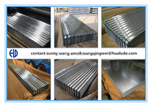 0.14 mm Aluminum Zinc Coated Galvanized Corrugated Roofing Sheet