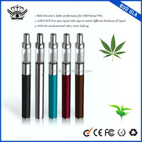 Hot Sale for US. Market CBD Oil Pen Vape Refillable 0.5ml Tank Cartridge And Rechargeable 280mAh Battery