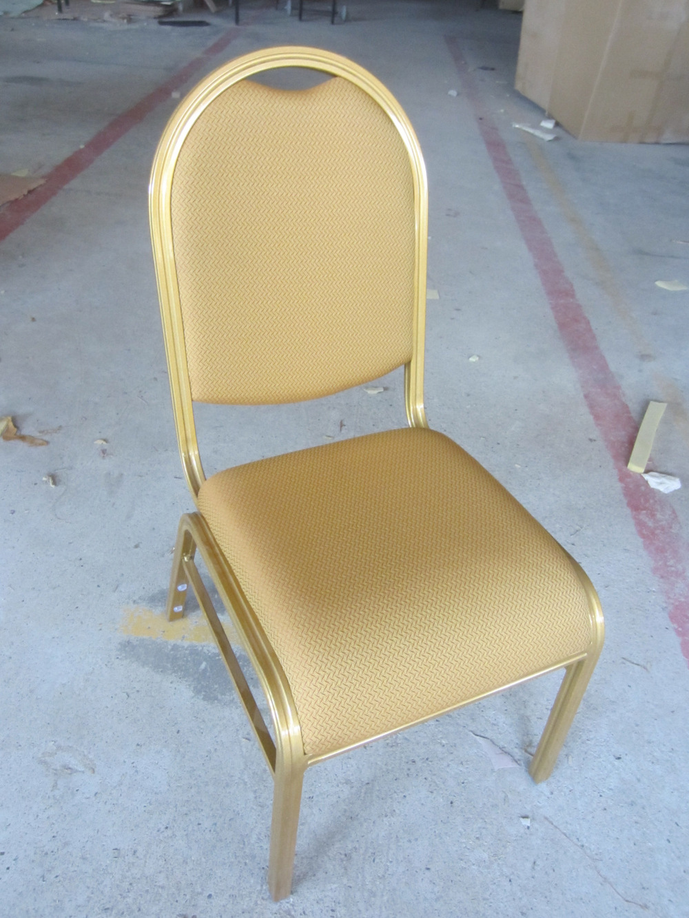 Comfortable Stacking Banquet Hall Chair With Waterfall