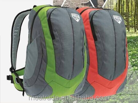 Outdoor Short Trips Backpack with Rain Cover and Laptop Sleeve