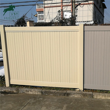 Hight Quality PVC vinyl fence panels,6' x 8' Vinyl Fence panel / Full Privacy Fence