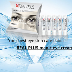 Male use high quality natural extract made REAL PLUS eye cream
