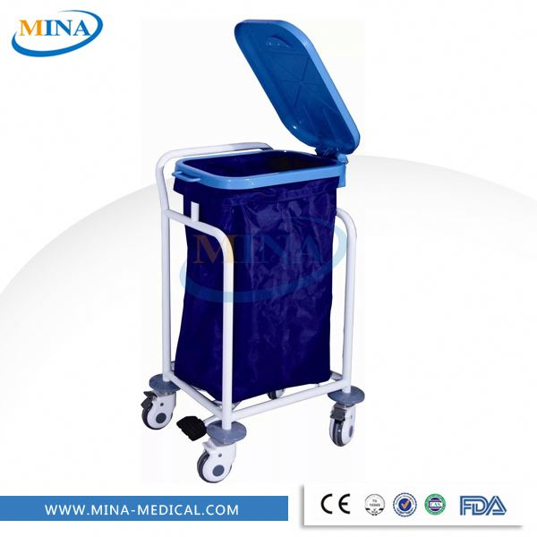 MINA-LT03 Hotel Housekeeping Maid Linen Trolley /Linen cart for sale