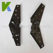 Degree Adjustable Iron Furniture Connector Hinges KYA023-1