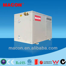 MACON European Standard water source heat pump three in one unit for heating and cooling and sanitary hot water
