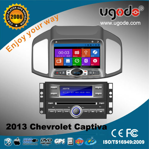 car audio for Chevrolet captiva 2013 with DVD GPS navigation radio bluetooth USB IPOD