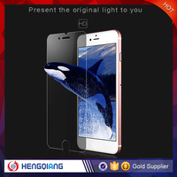 In stock 9h 0.33mm Anti fingerprint tempered glass screen protector for iphone 6 / 6S / 6S plus