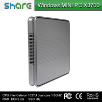 SHARE Mini Desktop Computer /Mini PC/ HTPC/ NETTOP/ HDMI 1080P/ WIFI/ RJ45/ Intel Celeron 1037U