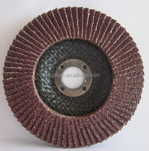 T27/T29 aluminum oxide flexible flap disk polishing metal,stone, wood