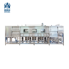 Angel hot sale 900B/H 20 liter rotary jar filling machine/ 5gallon bucket water filling machine L type or Linear