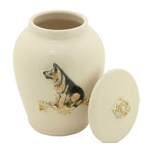Ceramic Garden Cremation Urn for Pets/Adults