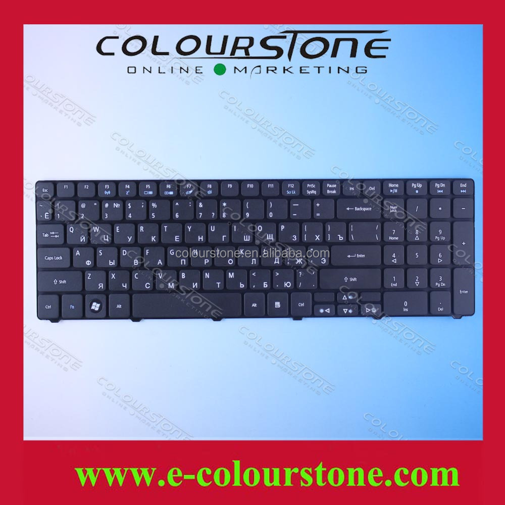 Laptop Russian Keyboard for Acer 5740 5536 5536G 5738 5738g 5810 5810T 7735 5336 5410 5532 5252 5742G 5742Z RU Black keyboard