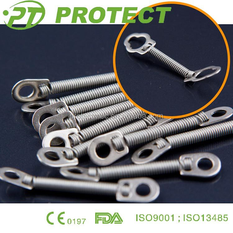 Orthodontic Niti Closed Coil Spring