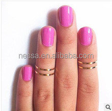 fashion gold full finger knuckle ring A-408