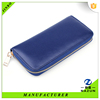 hot sell summer Clutch cheap blue lady clear wallet with card