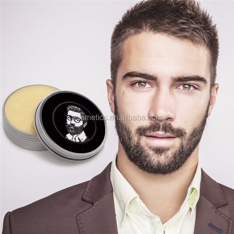 OEM factory hot selling smoothly beard styling natural beard wax beard balm for men