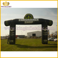 New custom logo inflatable arch, portable PVC inflatable arch gate