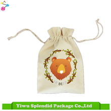 Designer New Ideas Manufacturing Canvas Gift Packing Design LOGO Printing Drawstring Bag Cotton