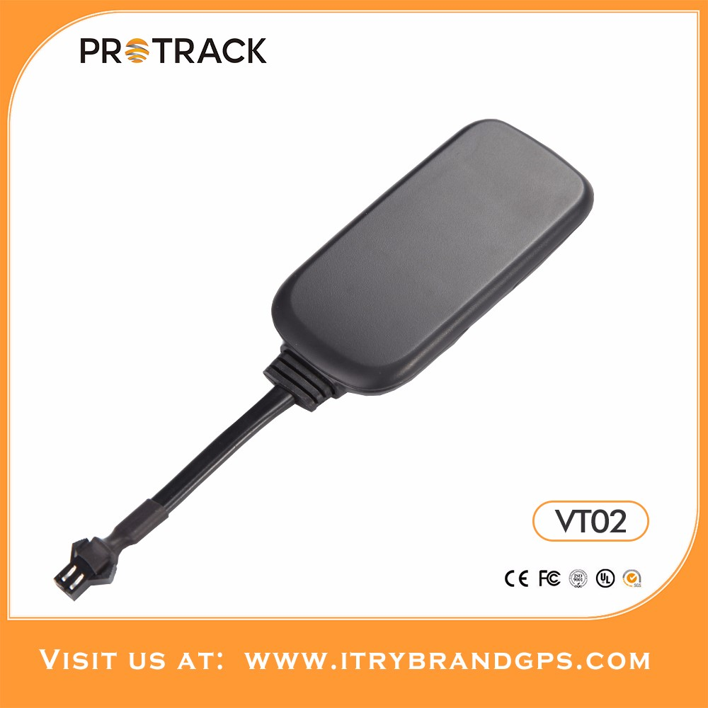 Mini gps tracker device gt06 and Easy installation car tracking system VT02 for free on protrack