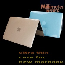Low price popular grey silicone case cover for macbook