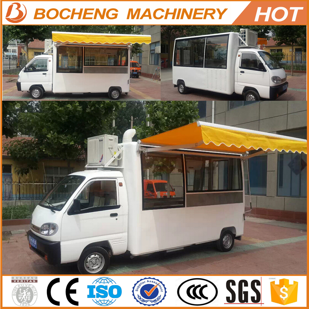 new model hamburgers carts ice cream street food car