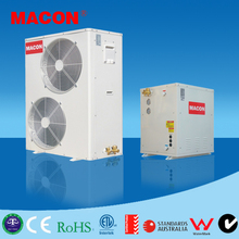 evi split air to water heat pump low temp air source heat pump for water heating