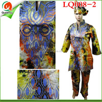 LQ008-2 2015 hot sale 100% brand new african clothes bazin riche dress for women with great price