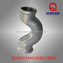 water faucet fitting crossover malleable iron pipe fitting