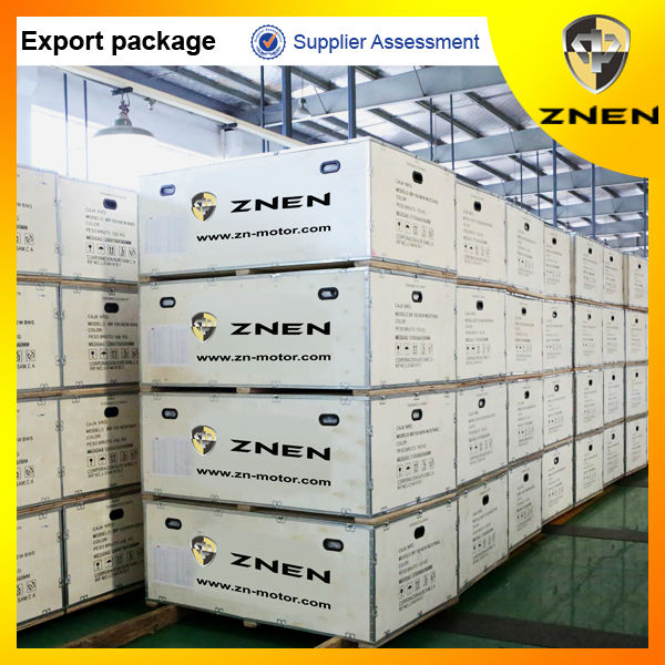 ZNEN gas scooters export with CKD carton