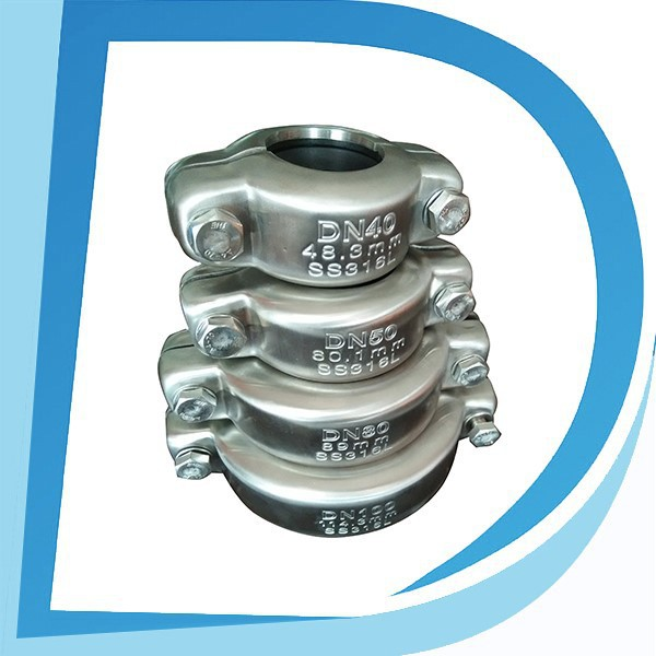 "Easy Installation 2.5"" DN65 76mm npt coupling dimensions for sea water with biggest manufacturer"