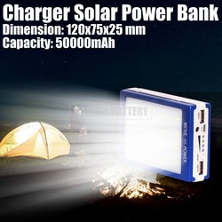 Charger Solar Power Bank 50000mAh for Camping Travel Charging Mobile Phones Made in China