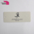 Eco-Friendly custom clothing folded paper price hang tags