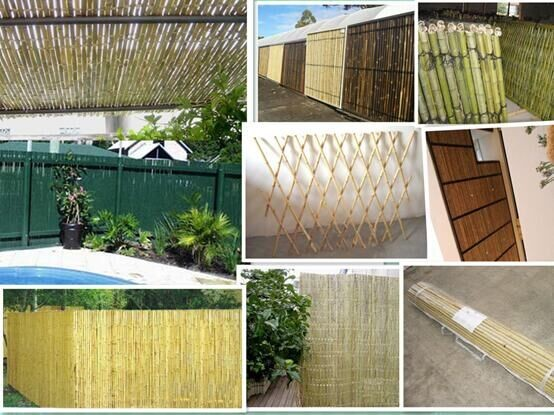 Hot sale!!! High quality and cheap Bamboo Fence Ceitificate Approved