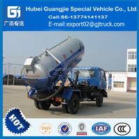 8000Ltr to 12000Liters Vacuum Suction Fecal Pump Tank Truck 190HP Diesel Engine