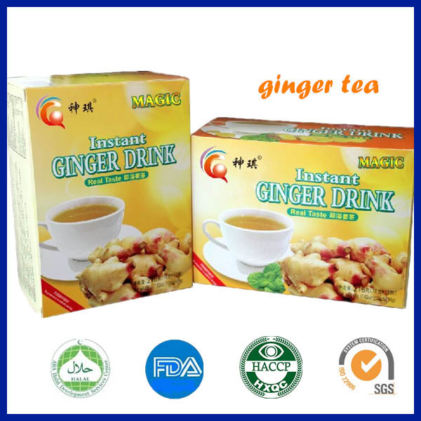 FAD certification herbal ginger tea , instant ginger tea, ginger tea granules