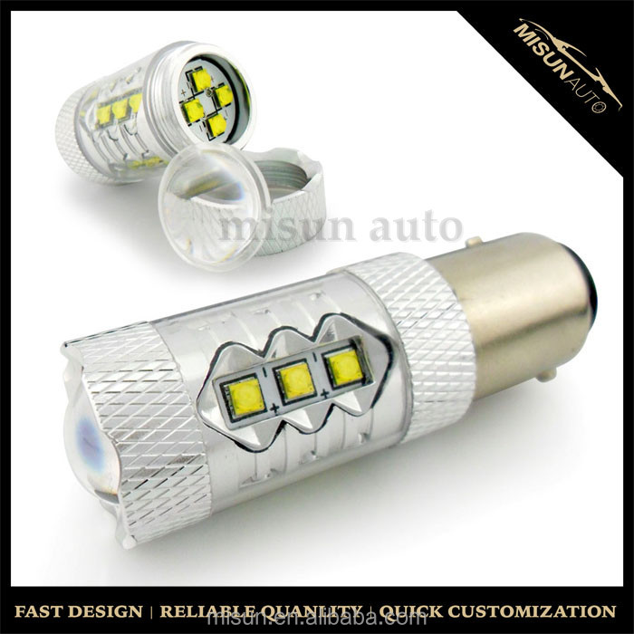 50W S25 p21w p21/5w 1156 1157 ba15s bay15d led bulb socket Auto LED Tail Light