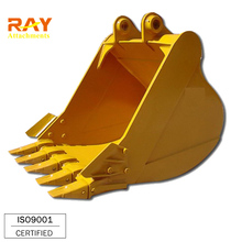 Mini bucket standard excavator rock drilling buckets sizes