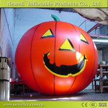 Lower price custom commercial halloween inflatable pumpkin With CE