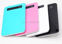 2016 Newest Promotional gift universal 5000mah power bank 5000