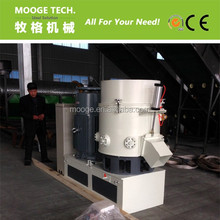plastic agglomerator machine for Waste ldpe hdpe film pelletizing recycling line