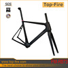 2014 new style and high quality chinese carbon bike frame, super light carbon road frame for sale at manufacturer price