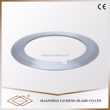 High rigidity stainless steel coil cutting strip slitting rotary blade