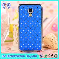 For Huawei G600 Cover Plating Bling Crystal Case For Huawei Mobile Phone Cover