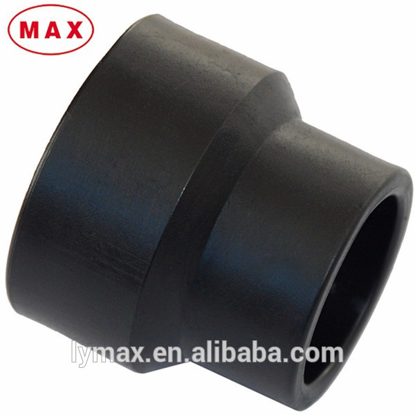 Hdpe pipe fitting standard conc reducer sizes buy