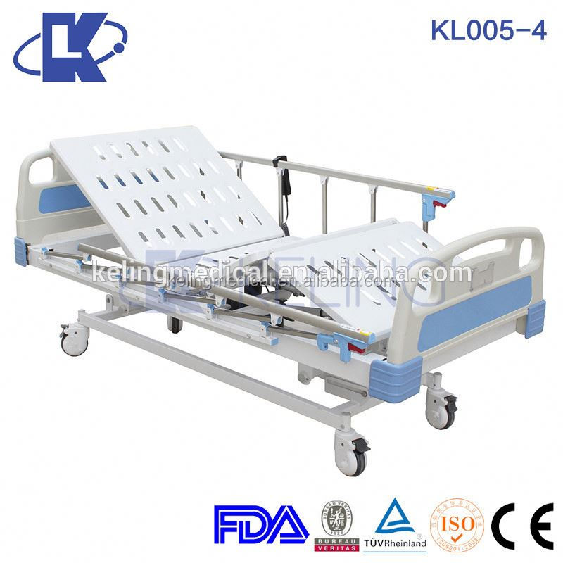 Cold-rolled steel medical bed electric elder homecare bed linak motor electric hospital bed for sale for patient